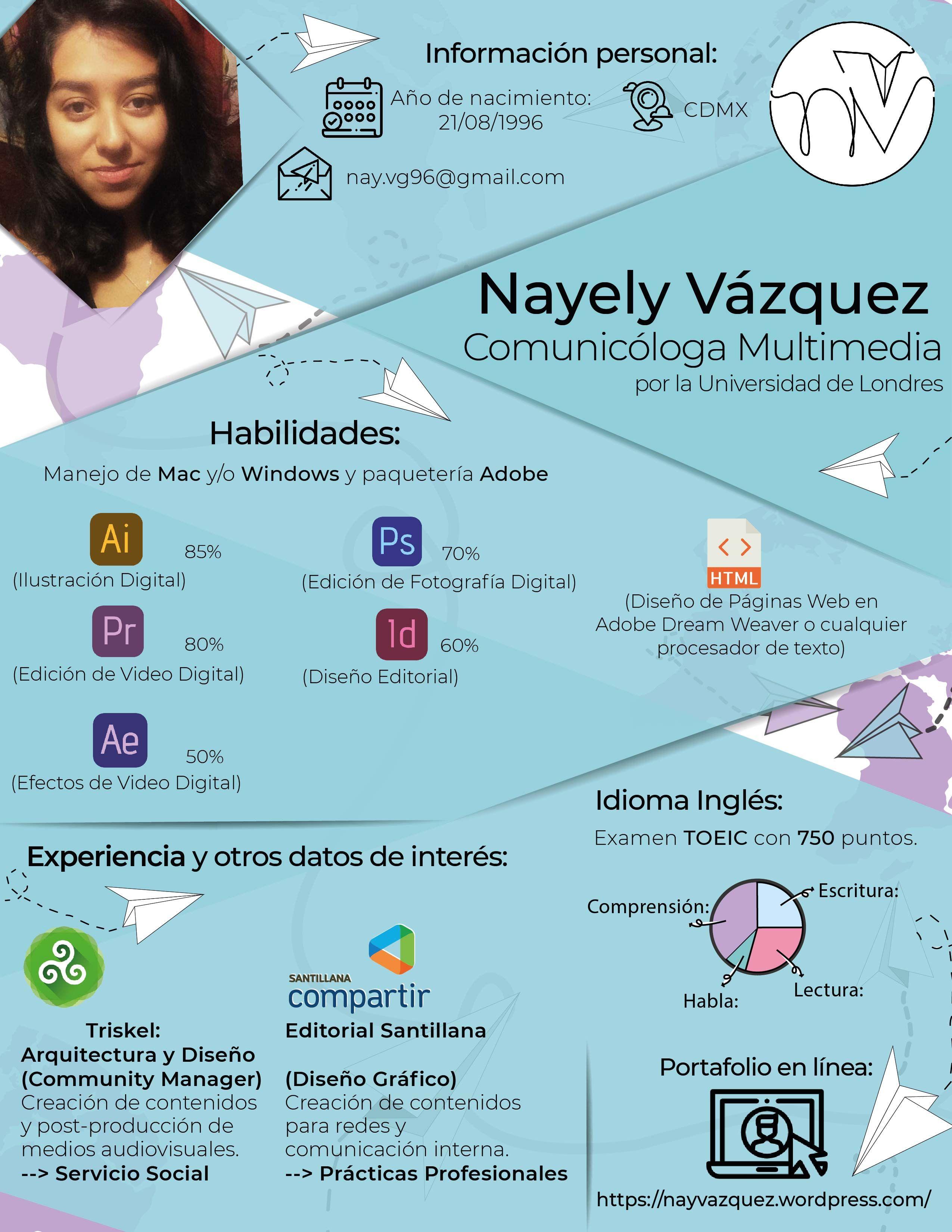 Mi Curriculum Vitae Comunicacion Multimedia Cv Hojadevida