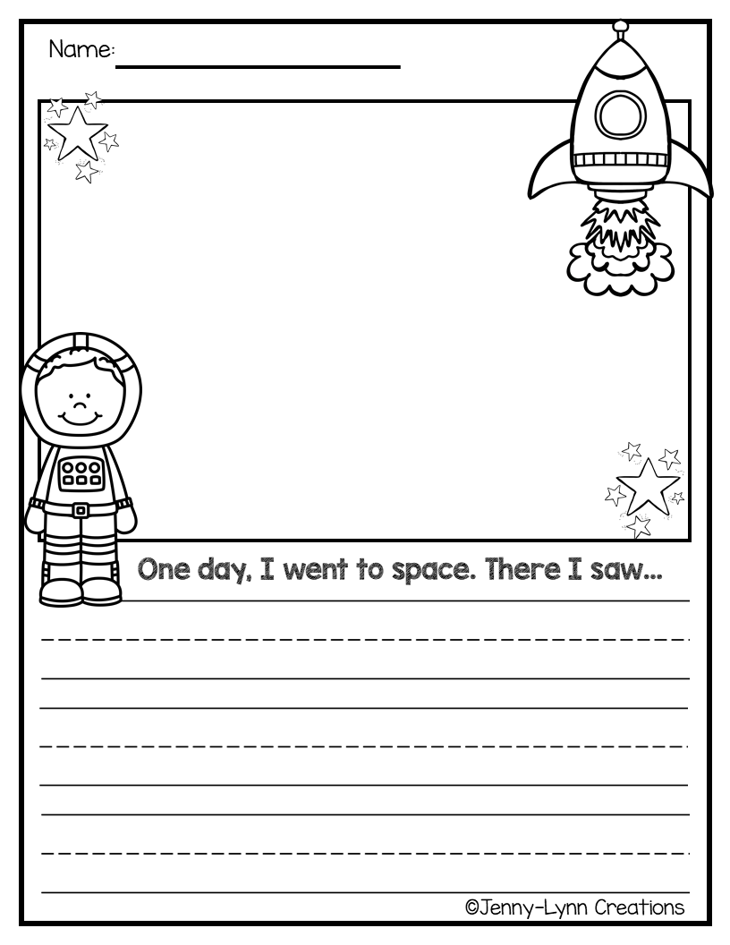 Space Theme - Jenny-Lynn Creations - Space Theme This packet is chock full  of space themed activities. If you are doing a space them…   Skola [ 1056 x 816 Pixel ]