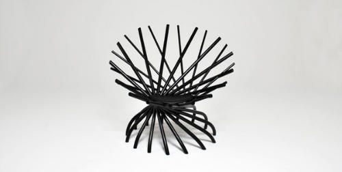 Nest Chair designed by Markus Johansson. Wonder if its comfy...or would it be to hard.