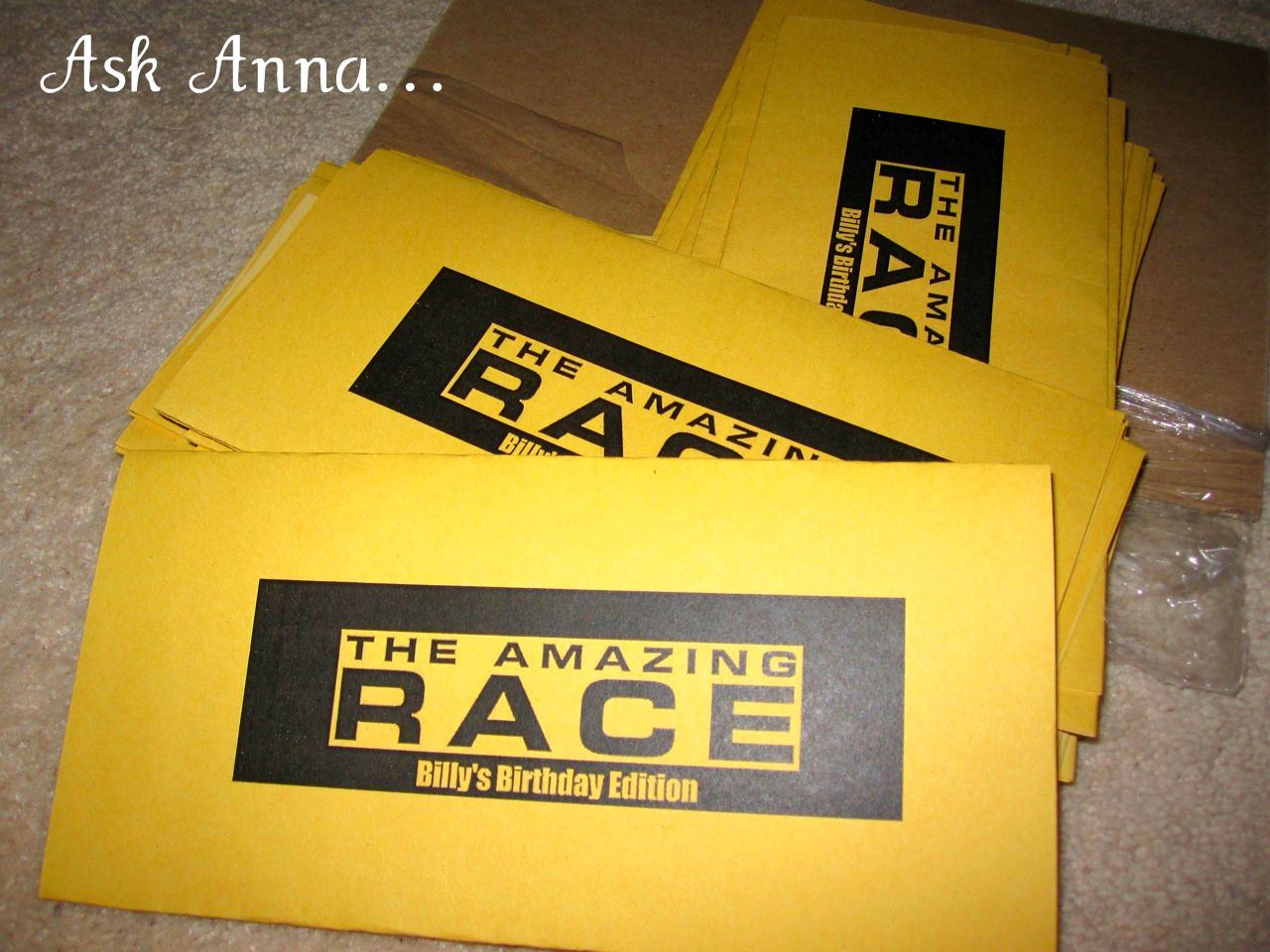 Amazing race ideas - Amazing Race Party Fundraising Event Possibility