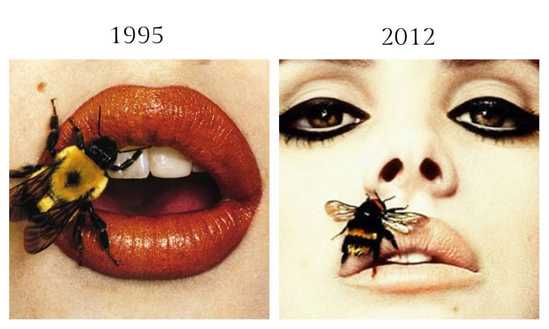 Bee (A) by Irving Penn, Spetember 22, 1995 and Lana Del Ray for Interview Magazine by Sean and Seng, February 2012