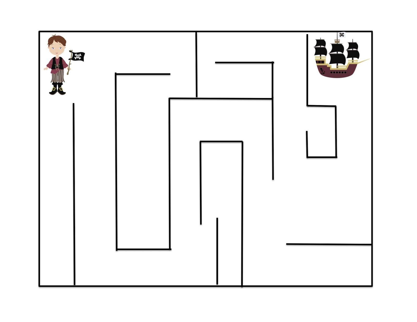 Pirates Pirate Activities Preschool Pirate Theme [ 1236 x 1600 Pixel ]