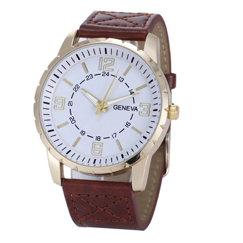 "US $2.38 (Buy here: http://appdeal.ru/3i81 ) Fabulous Fashion & Casual Luxury Business Men""s Watch Leather Band Quartz Wrist Watches for just US $2.38"