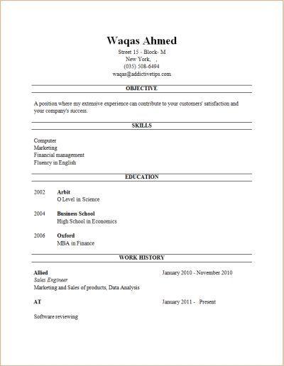 free resume builder resume builder | Beautiful | Pinterest | Resume ...