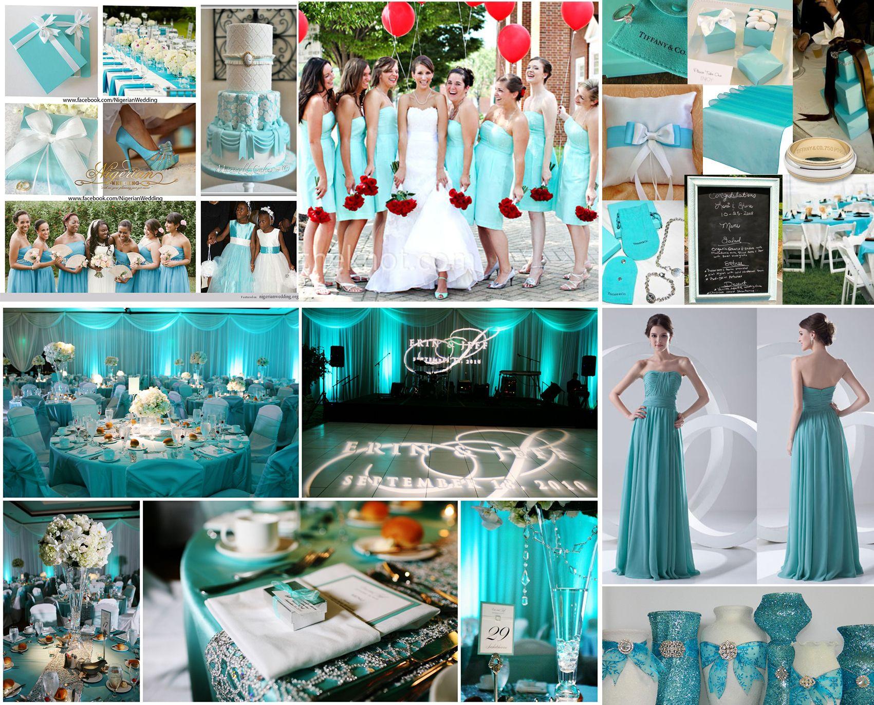 The Tiffany Blue Theme Wedding Ideas Blue Wedding