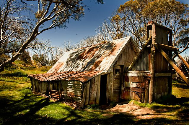 wallace u0026 39 s hut  bogong high plains  australia