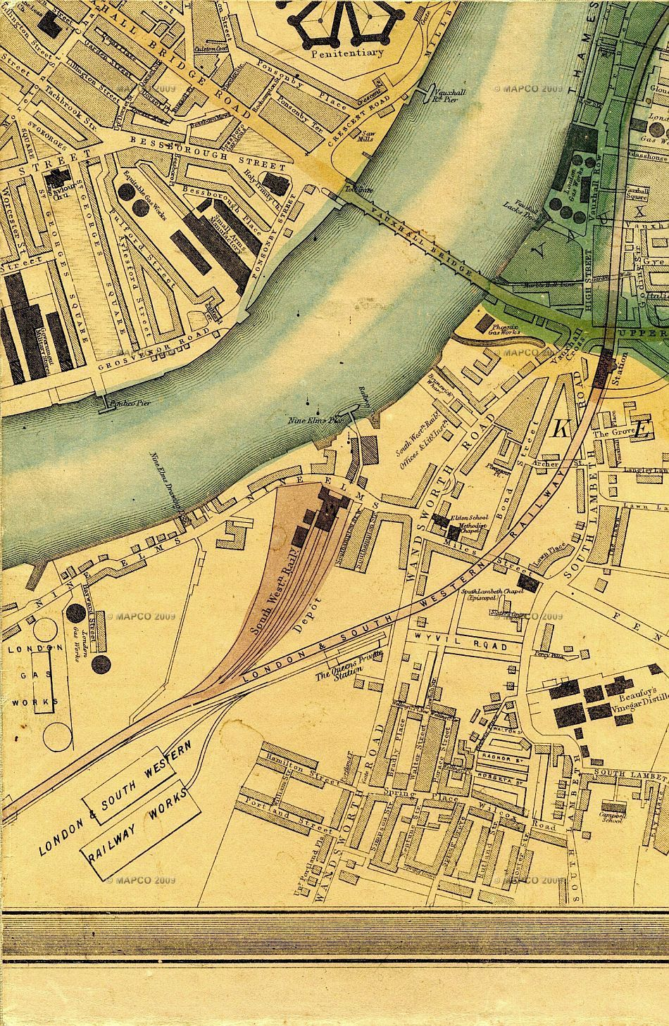 Pimlico London Map.Click Here For An Enlarged Map Image Pimlico Pinterest Map