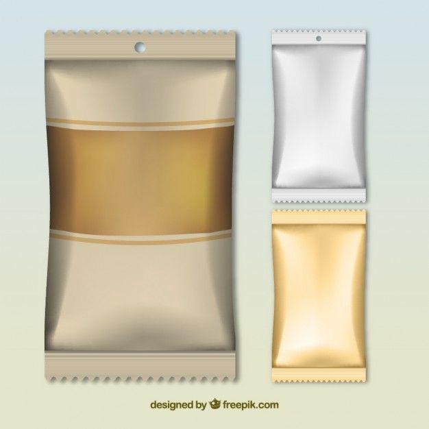Download Download Snack Packagings For Free Vector Free Packaging Mockup Design