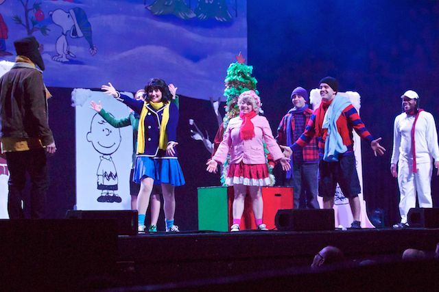 A Charlie Brown Christmas Play.A Charlie Brown Christmas The Wellmont Theater Charlie