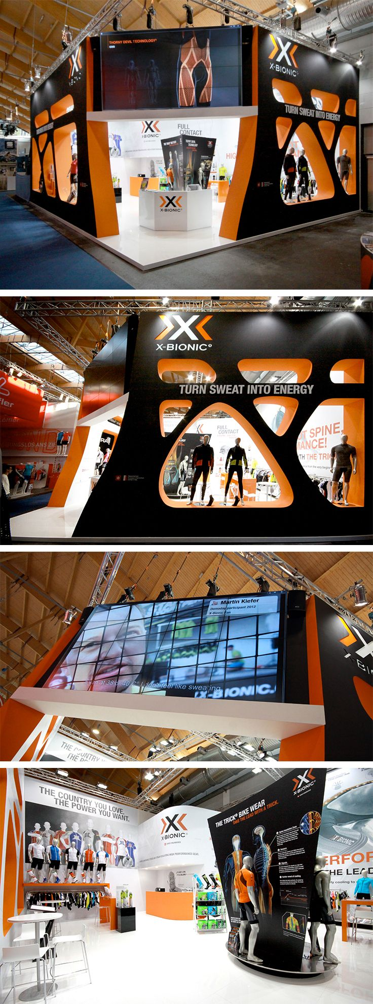 •Exhibition Stand @ Eurobike •Stand Design: X-Technology•Stand Build: Xilos Temporary Architecture