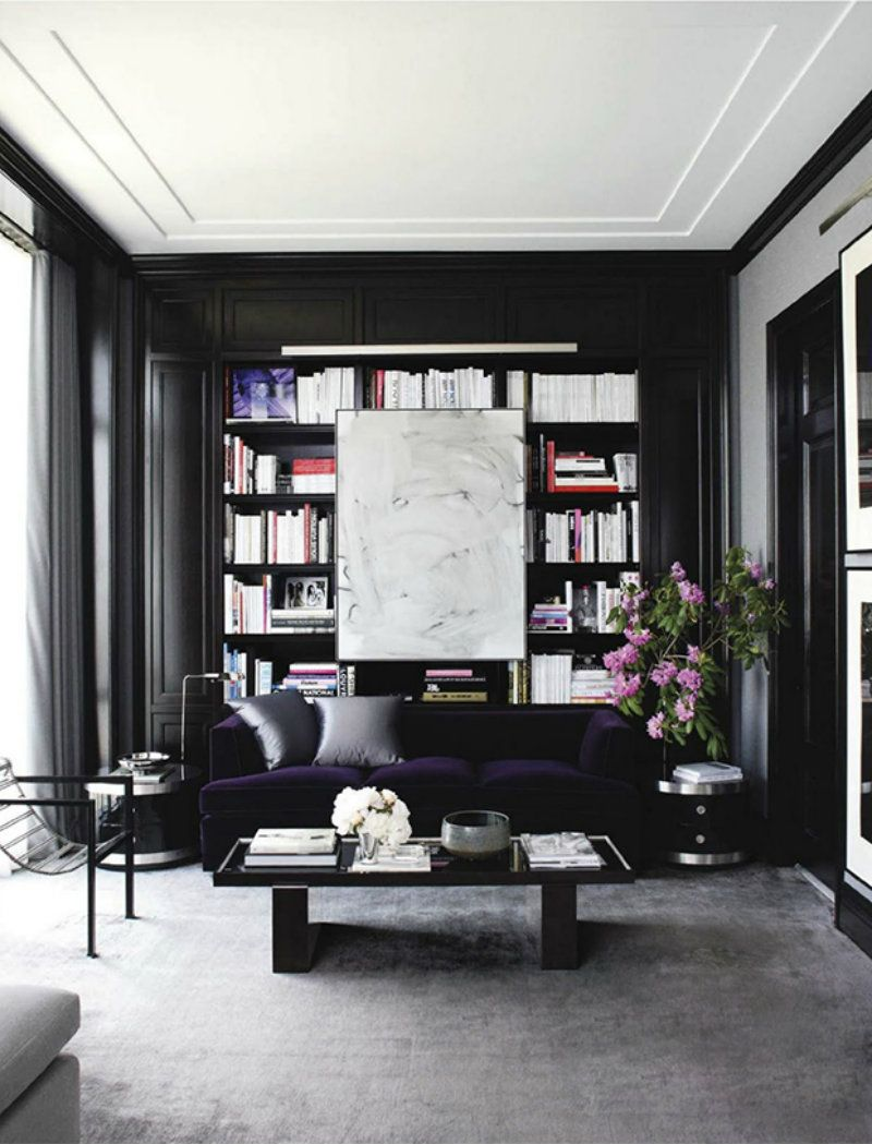 Best Black Gold For A Stylish Living Room Karen Black 400 x 300