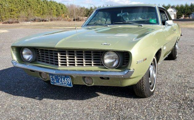 98k Original Miles: 1969 Chevrolet Camaro