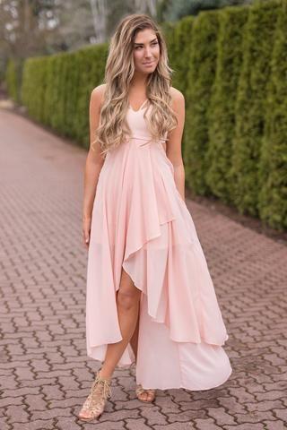 12+ Pink hi lo dress ideas