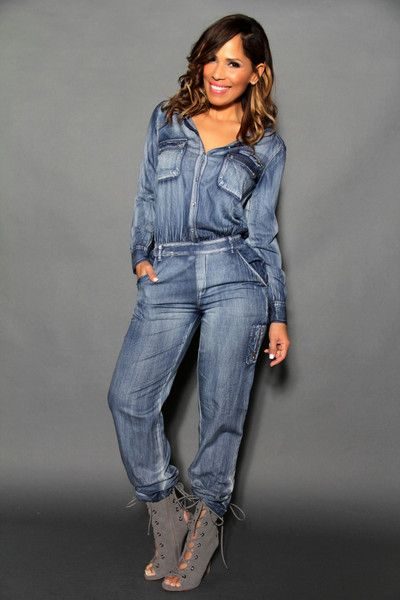 22a32edcf934 Chic Long Sleeves Safari Style Denim Jumpsuit - MY SEXY STYLES - 3 ...