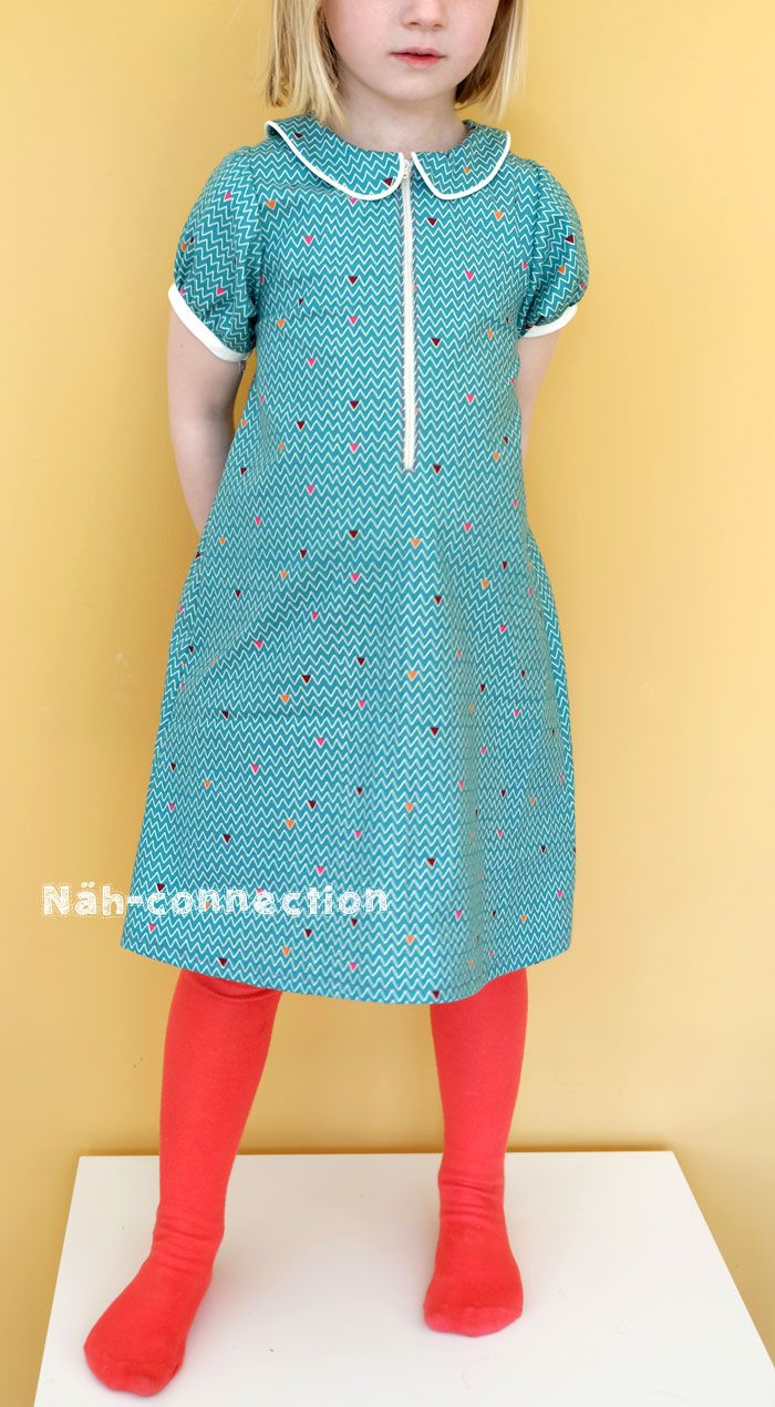 A la Mode Dress by Blank Slate Patterns - sewn by Näh-Connection ...