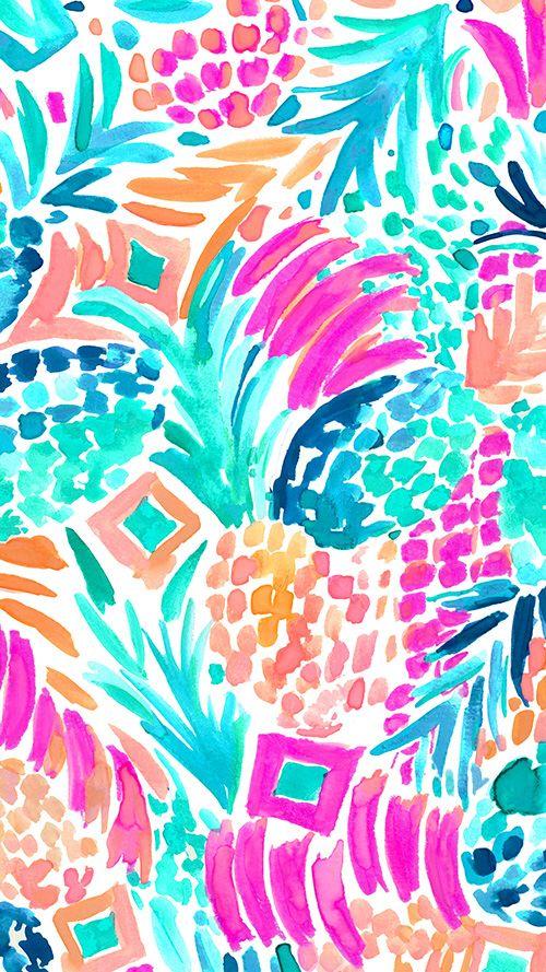 Lilly Pulitzer Goombay Smashed   Patterns   Pinterest   Fondos ...