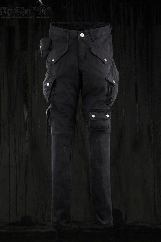 a836c07d67 Korean Style mens cargo pants   Urban TechWear   Cargo pants men ...