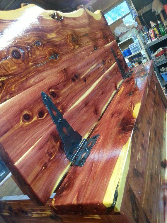 Cedar Gun Chest with Hidden Closures by BarroneContracting on Etsy