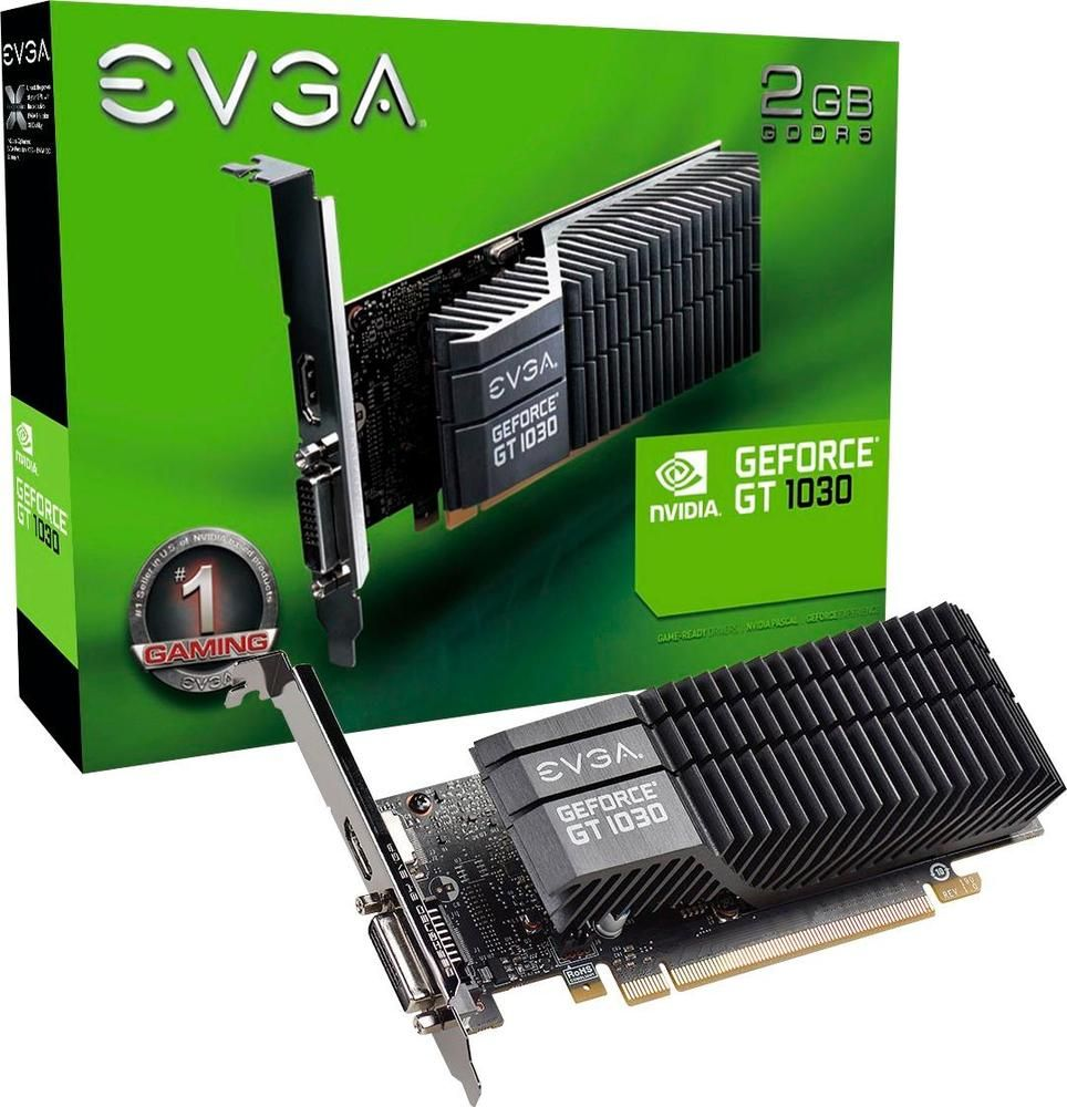 Evga Nvidia Geforce Gt 1030 2gb Gddr5 Pci Express 3 0 Graphics