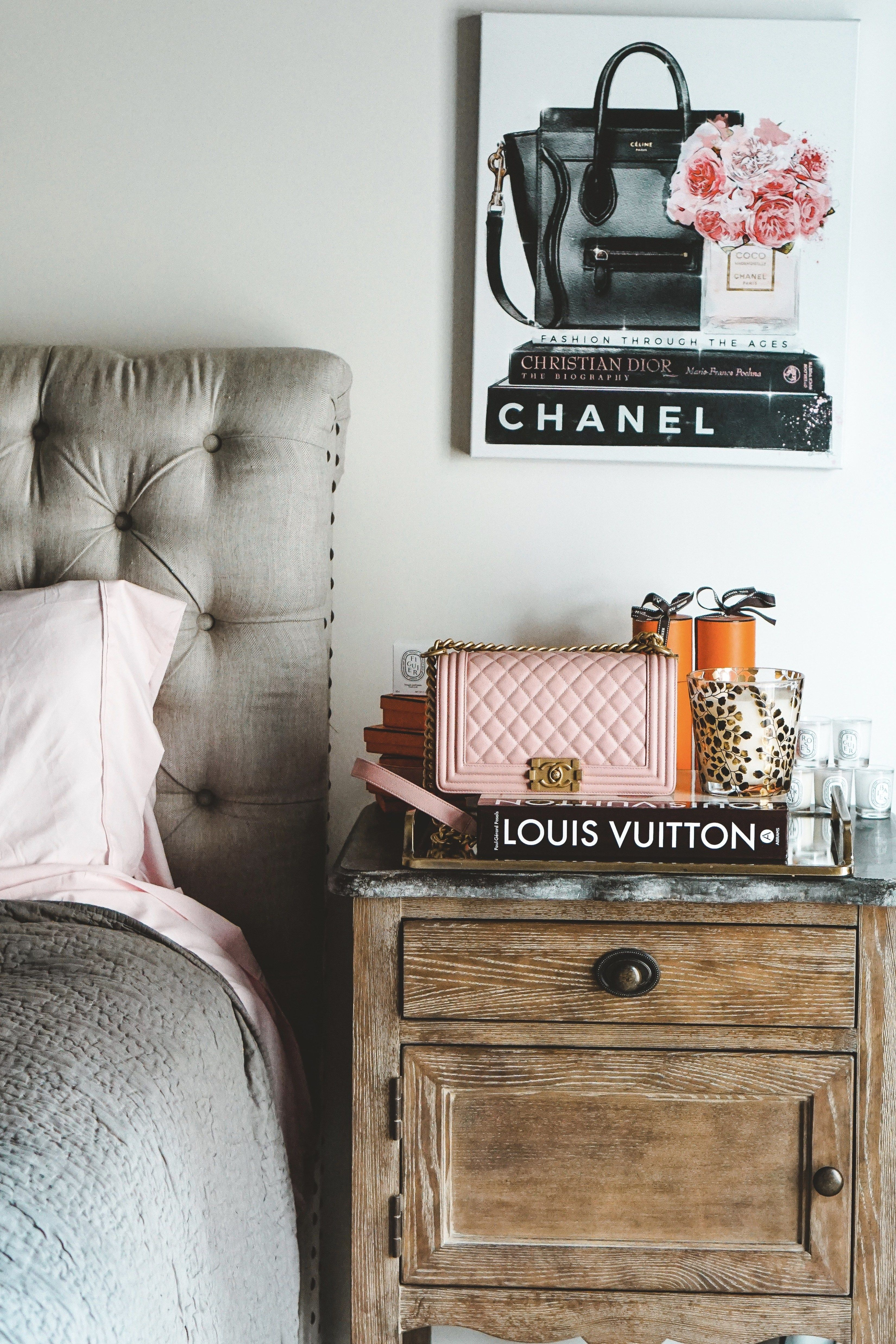 Tampa Bedroom Tour Grey bed frame, Decor, Dresser as
