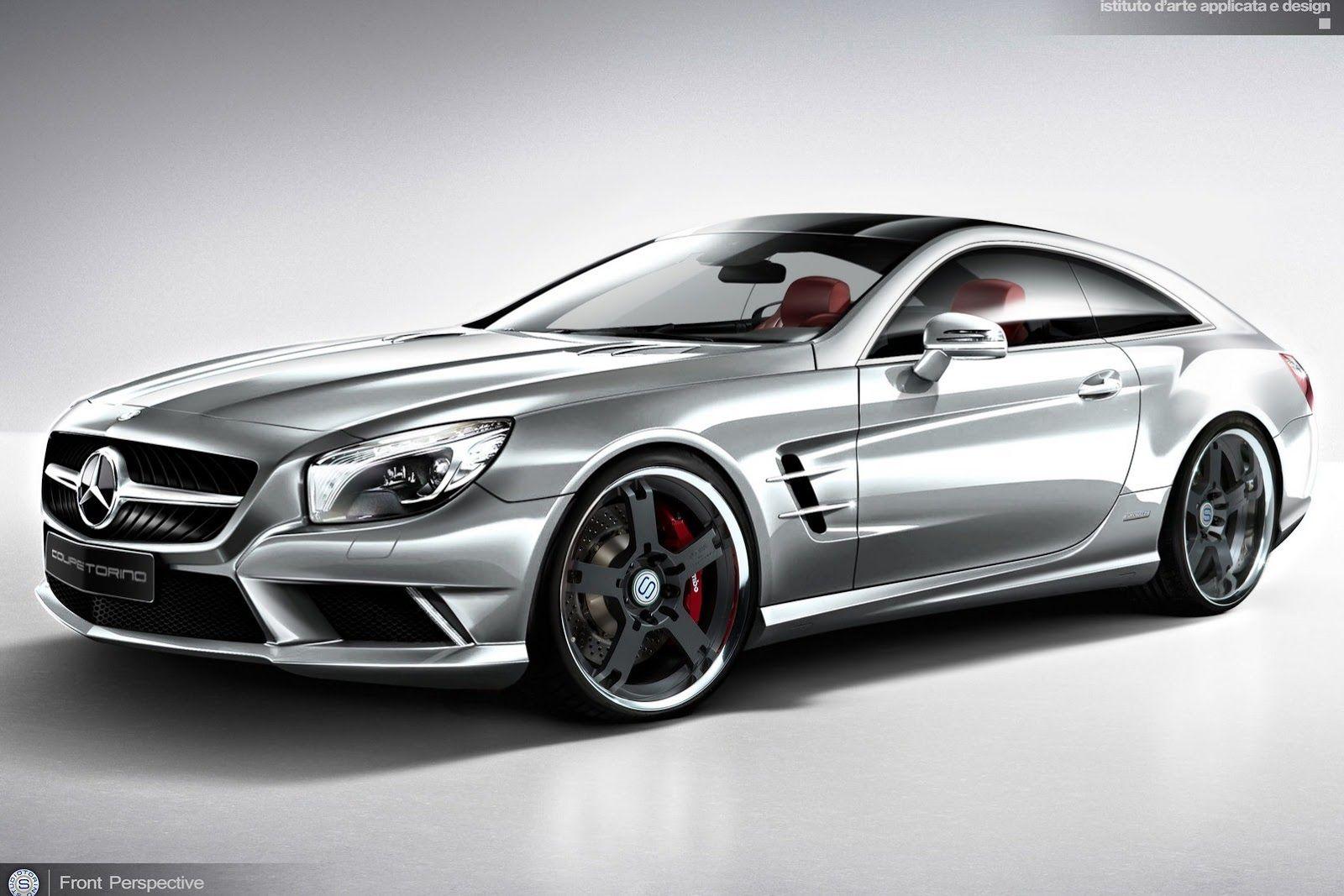 Mercedes Sl Shooting Brake Concept With Images Mercedes Sl