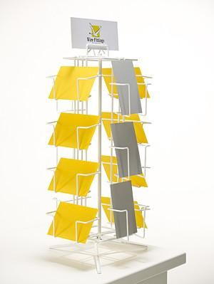 A6 Greeting Card Counter Display Stand For The Home