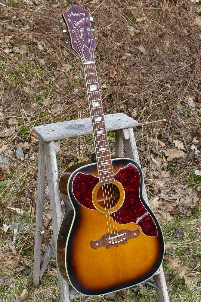 Antebellum Instruments 1968 Harmony H1265 Sovereign Jumbo Guitar