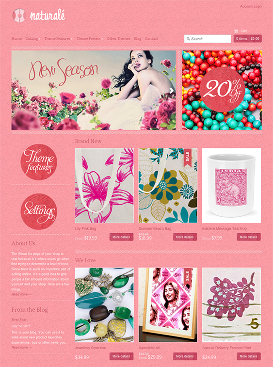 4 of the Best Pink Shopify Themes (With images) Shopify