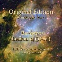 Acim Lesson 54 Rev 16 20 Audio By Acim Original On