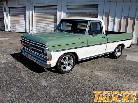 1968 Ford F100 Ranger Front Side Shot Photo 1 Ford Trucks Classic Ford Trucks Ford Pickup Trucks