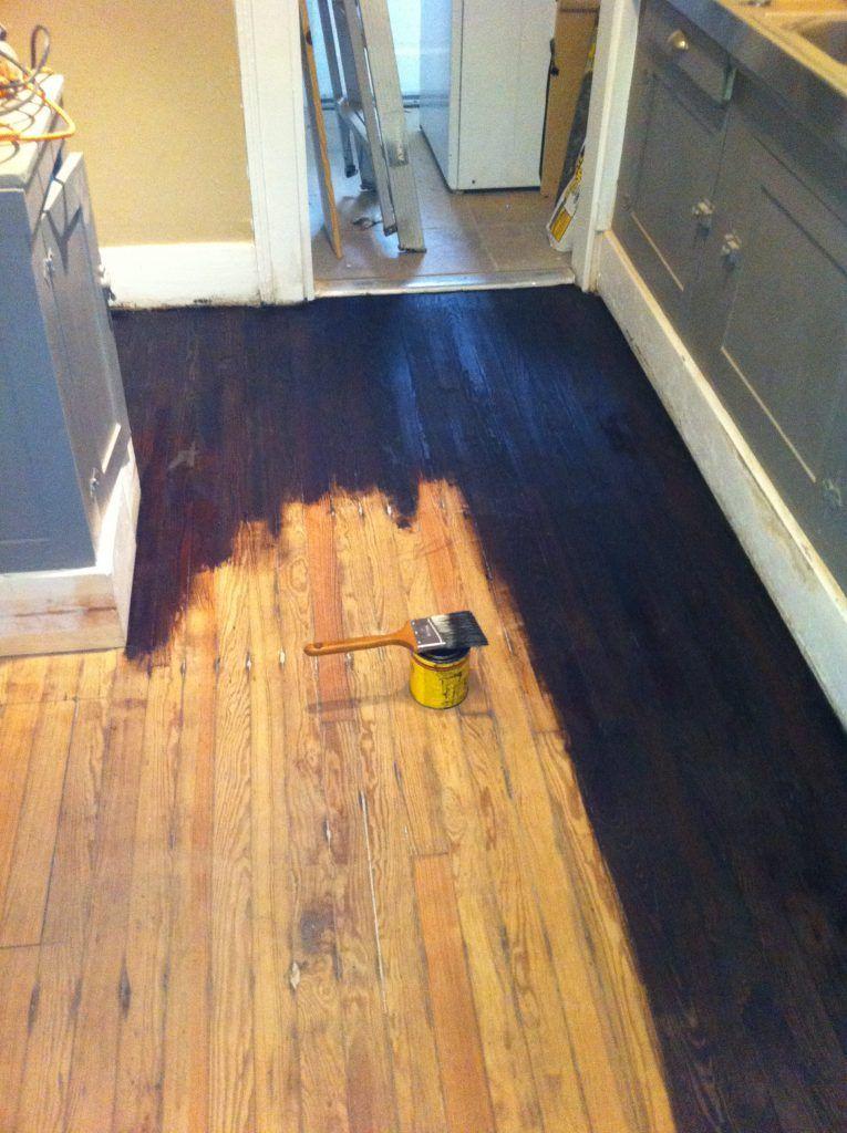 Staining Hardwood Floors