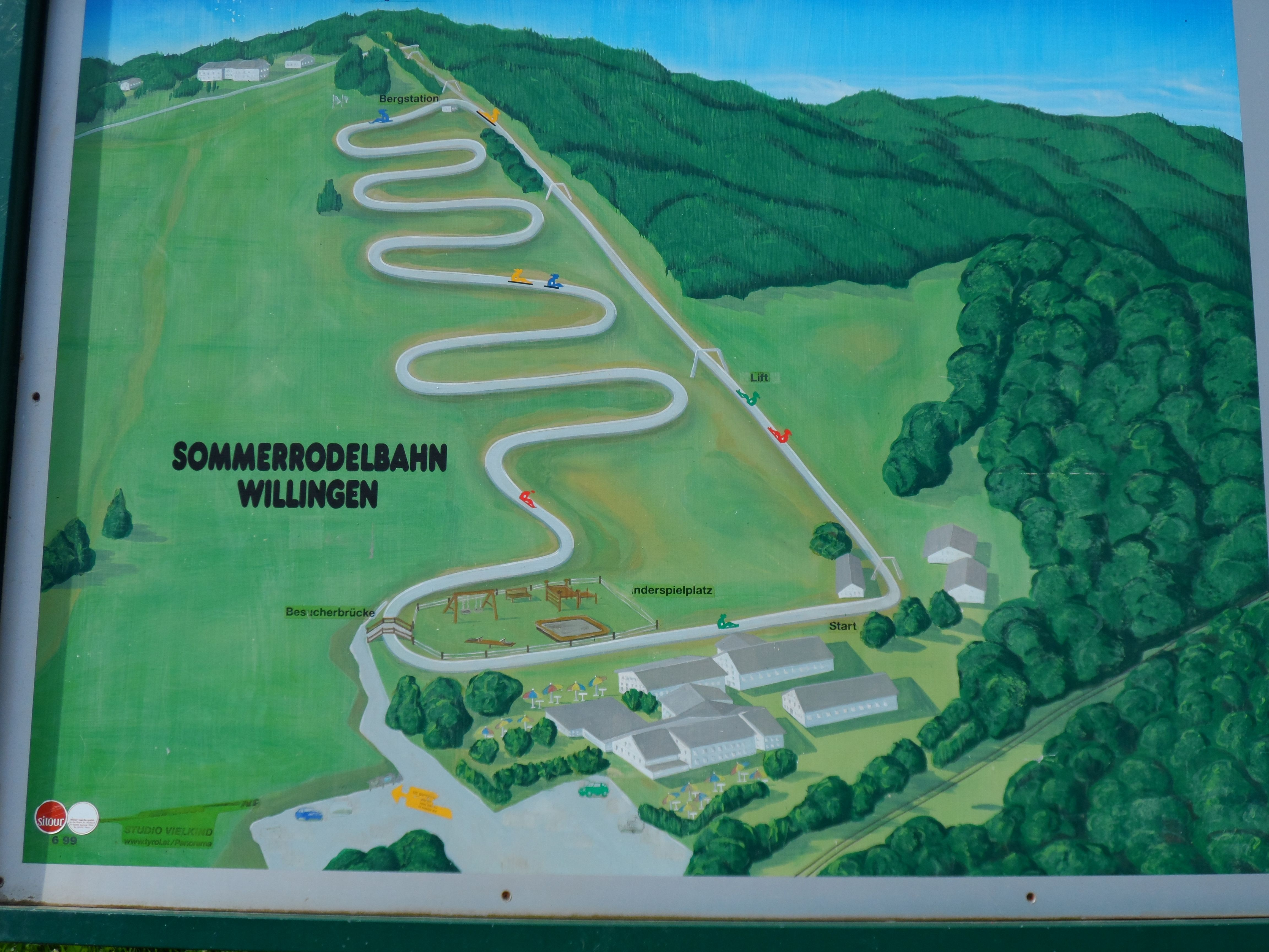 Ferienhaus Mit Pool Willingen Zomerrodelbaan Willingen Plan Der Sommerrodelbahn In Willingen
