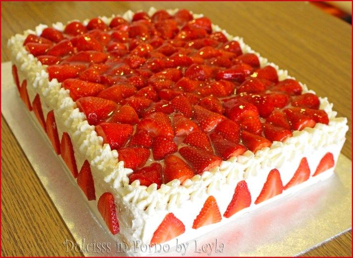 Torta con yogurt alle fragole nd47 regardsdefemmes for Decorazione torte bambini