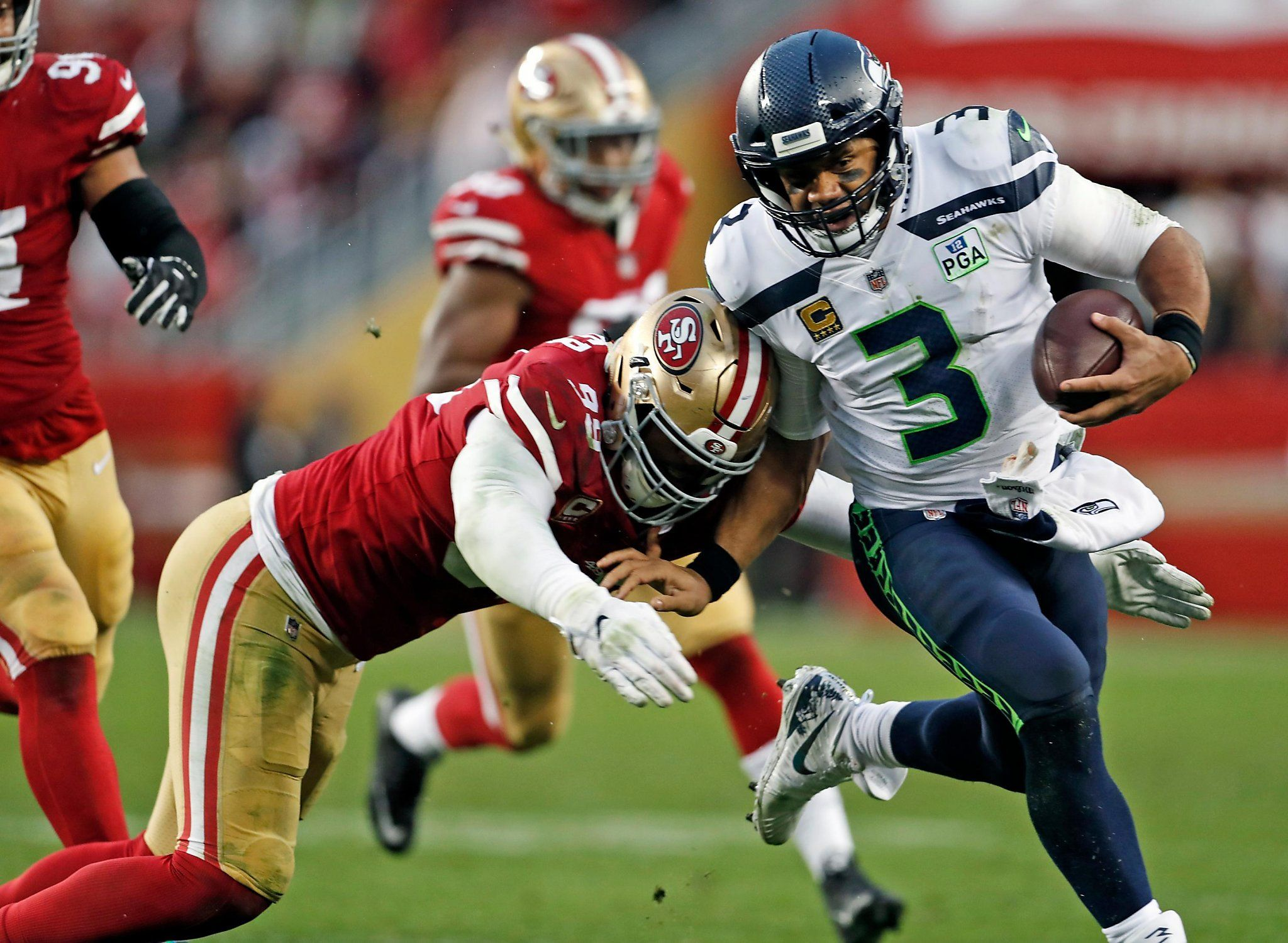 Report Russell Wilson rumored to consider leaving