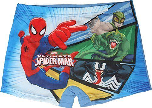 7e82336359 Marvel Spiderman Boys Swimming Trunks Boxer Shorts By Bes... https://