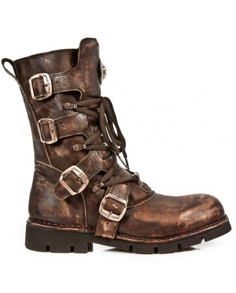 M.1473 S48 | Chaussures steampunk, Bottes punk, Bottes rock