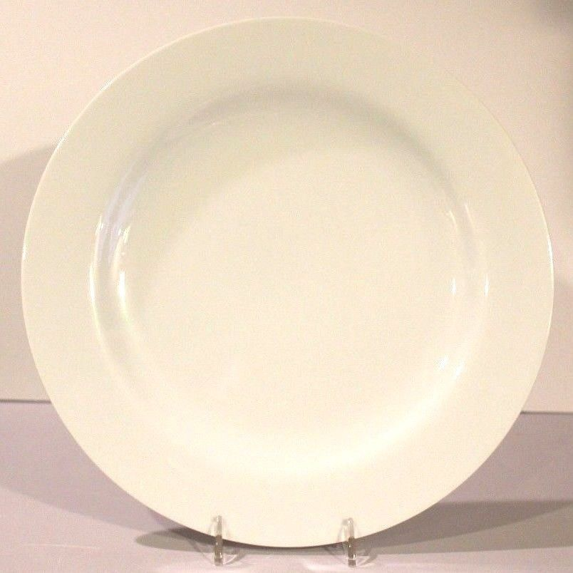 Rosenthal Germany Studio Line 11  Round Solid Plain White Dinner Plate EUC & Rosenthal Germany Studio Line 11