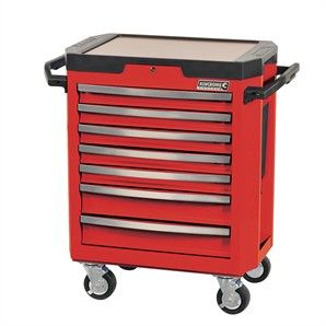 Kincrome 7 Drawer Tool Trolley Red Bunnings Warehouse Lego