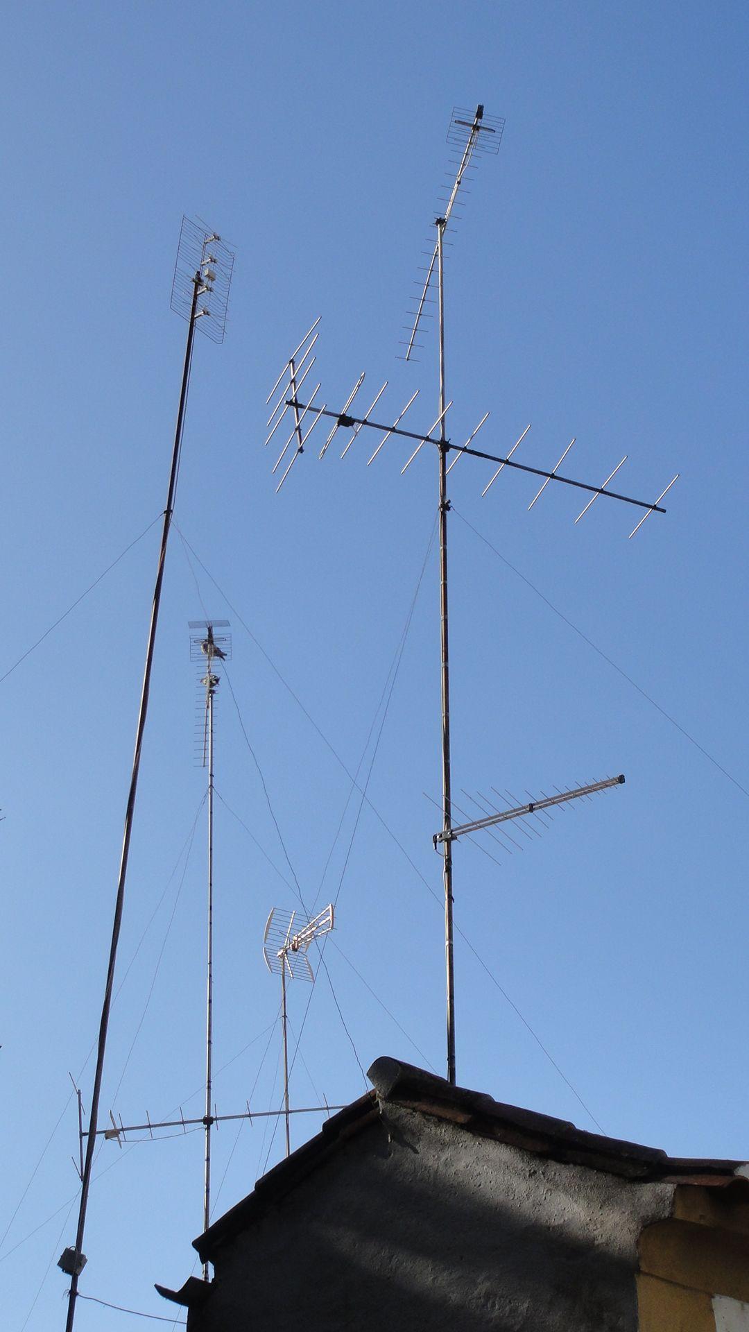 Floresta de antenas.