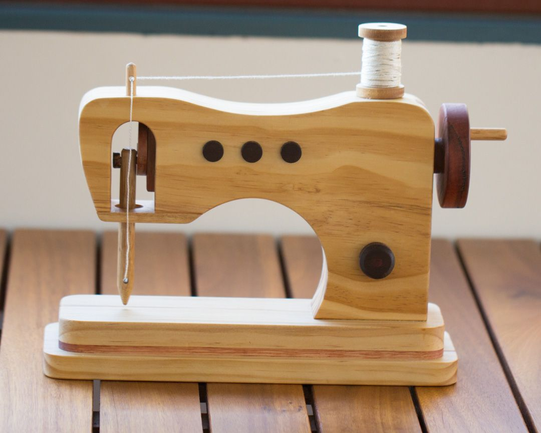 Wooden Toy Sewing Machine Wooden Toys Sewing Toys