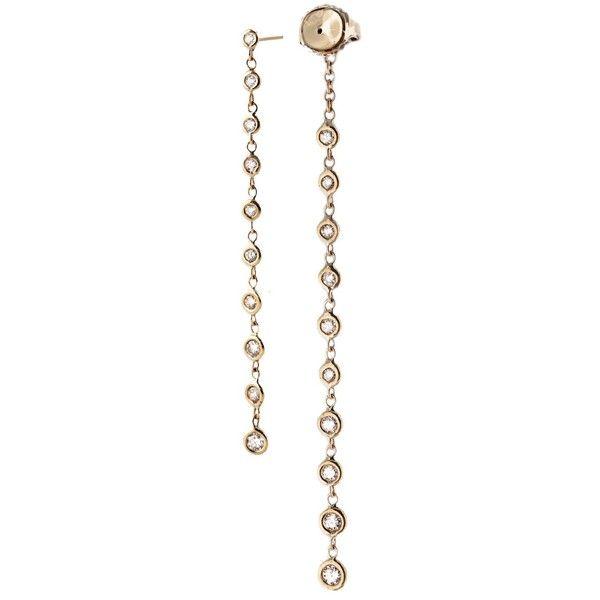Jacquie Aiche 14-karat Gold Diamond Earrings UCrZT1