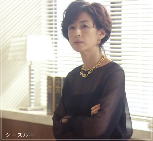 鈴木 保奈美 スーツ
