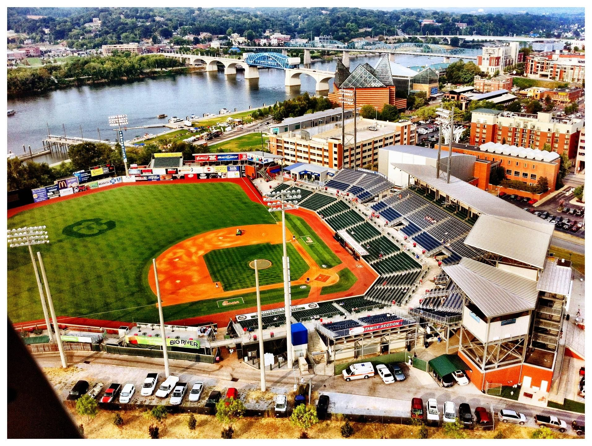 At T Field In Chattanooga Tennessee Chattanooga Tennessee Tennessee Travel Chattanooga