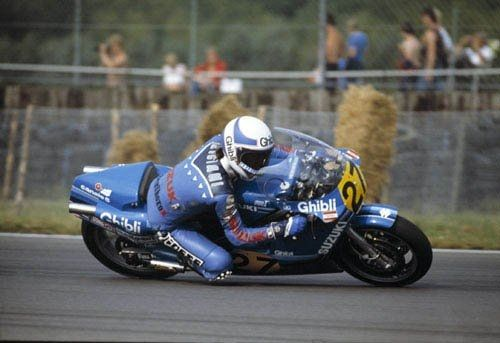 Loris Reggiani (Suzuki RG500 Team Gallina) 1982