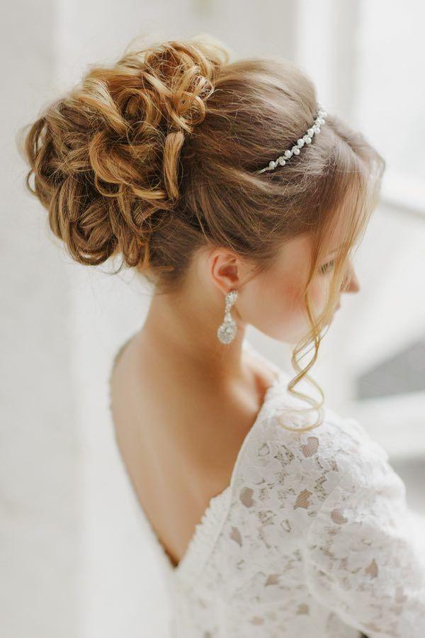 the most beautiful wedding hairstyles to inspire you - Recogidos De Novias