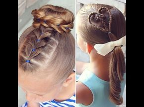 Peinados Faciles Para Nina Paso A Paso Tutorial Trenzas De Moda 1