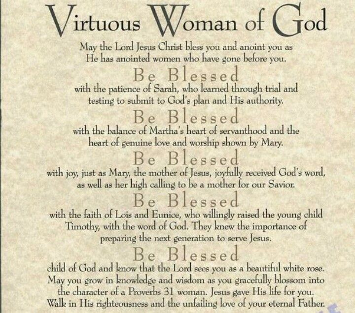 Woman Godly Quotes