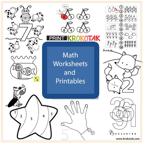 Math Worksheets and Printables Make sure you select \