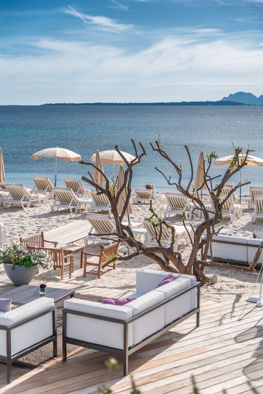 Cap D Antibes Beach Hotel Set On A