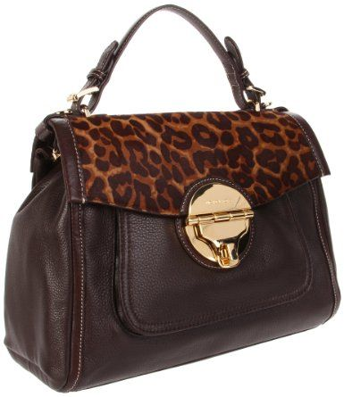 1093a24f4b2dad MICHAEL Michael Kors Margo Large Top Handle Tote (Leopard)   Bags ...